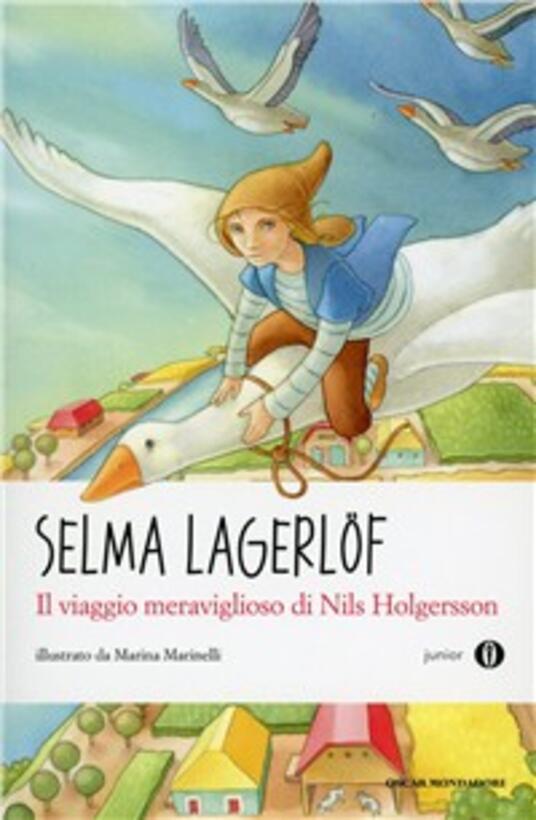 Il viaggio meraviglioso di Nils Holgersson - Selma Lagerlöf - copertina
