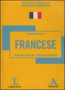 Libro Langenscheidt. Francese. Francese-italiano, italiano-francese