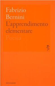 Libro L' apprendimento elementare Fabrizio Bernini