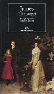 Libro Gli europei Henry James