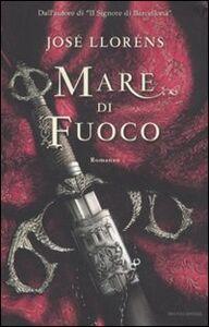Libro Mare di fuoco José Lloréns