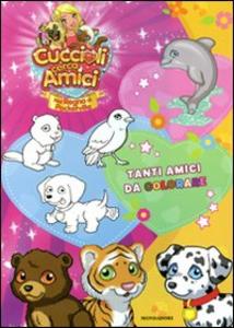 Libro Cuccioli cerca amici. Nel regno di Pocketville. Il libro con gli adesivi Stefania Lepera