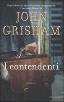 I contendenti - John Grisham - copertina
