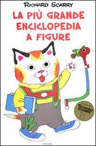 Libro La più grande enciclopedia a figure Richard Scarry