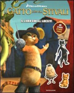Il gatto con gli stivali. Il libro con gli adesivi