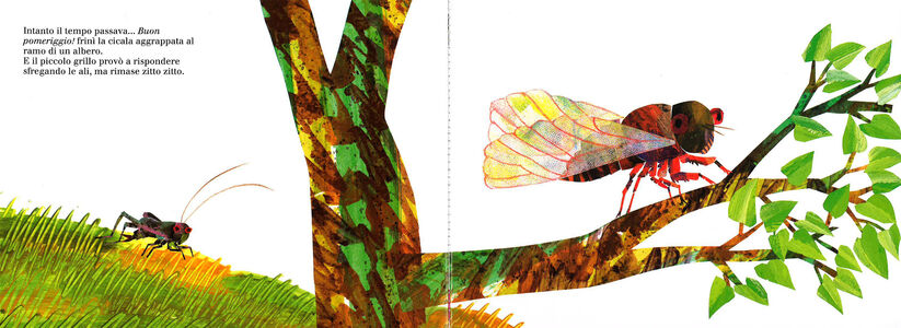 Foto Cover di Il piccolo grillo zitto zitto. Libro sonoro, Libro di Eric Carle, edito da Mondadori 2