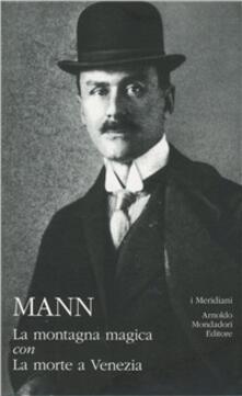 La montagna magica-La morte a Venezia - Thomas Mann - copertina