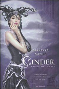 Libro Cinder. Cronache lunari Marissa Meyer