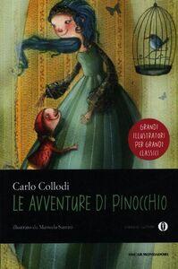 Foto Cover di Le avventure di Pinocchio, Libro di Carlo Collodi, edito da Mondadori