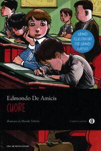 Foto Cover di Cuore, Libro di Edmondo De Amicis, edito da Mondadori