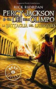 La battaglia del labirinto. Percy Jackson e gli dei dellOlimpo.pdf