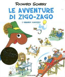Libro Le avventure di Zigo-Zago Richard Scarry