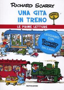 Una gita in treno - Richard Scarry - copertina