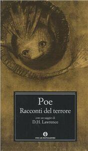 Libro I racconti del terrore Edgar Allan Poe