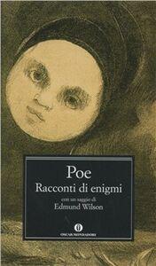 Foto Cover di Racconti di enigmi, Libro di Edgar A. Poe, edito da Mondadori