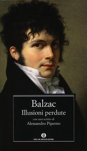 Libro Illusioni perdute Honoré de Balzac