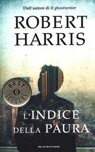 Libro L' indice della paura Robert Harris