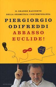 Foto Cover di Abbasso Euclide! Il grande racconto della geometria contemporanea, Libro di Piergiorgio Odifreddi, edito da Mondadori