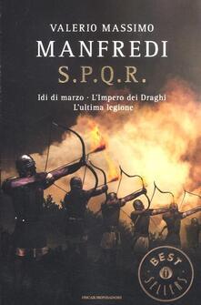 Radiosenisenews.it S.P.Q.R.: Idi di marzo-L'impero dei draghi-L'ultima legione Image
