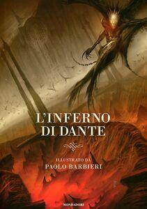 Libro L' inferno di Dante Paolo Barbieri