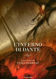 L' inferno di Dante - Paolo Barbieri - copertina