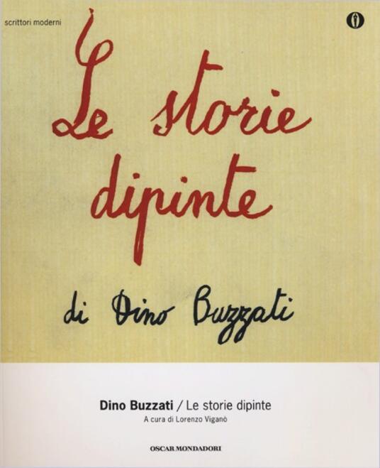 Le storie dipinte - Dino Buzzati - copertina