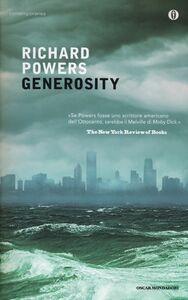 Foto Cover di Generosity, Libro di Richard Powers, edito da Mondadori