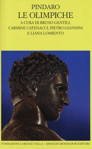 Libro Le Olimpiche. Testo greco a fronte Pindaro