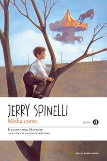 Misha corre - Jerry Spinelli - copertina