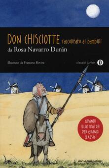 Don Chisciotte raccontato ai bambini - Rosa Navarro Durán - copertina