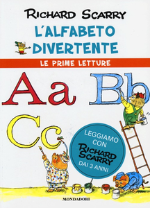 Libro L' alfabeto divertente Richard Scarry