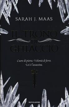 Il trono di ghiaccio - Sarah J. Maas - copertina
