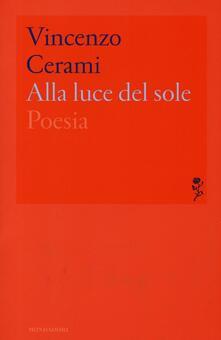 Alla luce del sole - Vincenzo Cerami - copertina