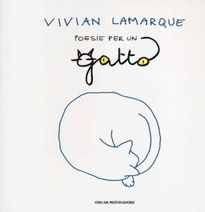 Foto Cover di Poesie per un gatto, Libro di Vivian Lamarque, edito da Mondadori