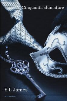 Cinquanta sfumature - E. L. James - copertina