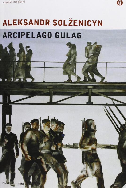 Arcipelago Gulag - Aleksandr Solzenicyn - copertina