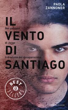 Il vento di Santiago - Paola Zannoner - copertina