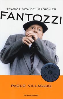 Tragica vita del ragionier Fantozzi - Paolo Villaggio - copertina