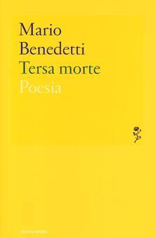 Tersa morte - Mario Benedetti - copertina