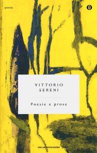 Libro Poesie e prose Vittorio Sereni