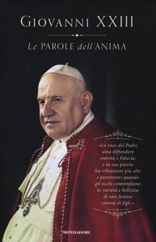 Le parole dell'anima - Giovanni XXIII - copertina