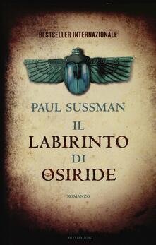 Il labirinto di Osiride - Paul Sussman - copertina