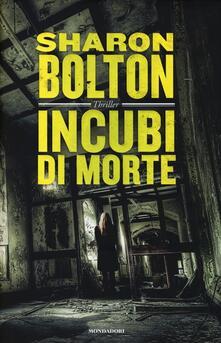 Incubi di morte - Sharon Bolton - copertina