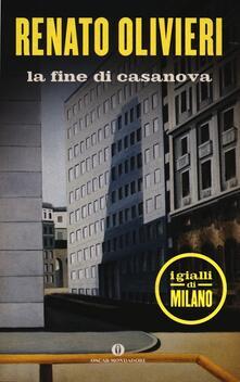 La fine di Casanova - Renato Olivieri - copertina