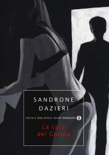 La cura del gorilla - Sandrone Dazieri - copertina