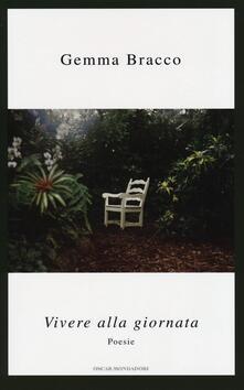 Vivere alla giornata - Gemma Bracco - copertina