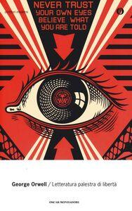 Libro Letteratura palestra di libertà George Orwell