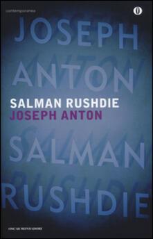 Joseph Anton - Salman Rushdie - copertina