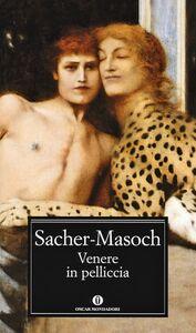 Libro Venere in pelliccia Leopold von Sacher Masoch
