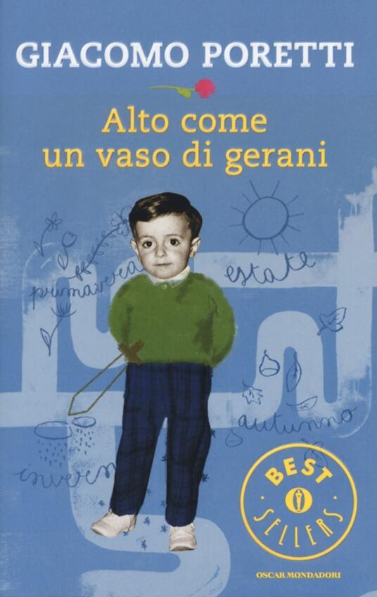 Alto come un vaso di gerani - Giacomo Poretti - copertina